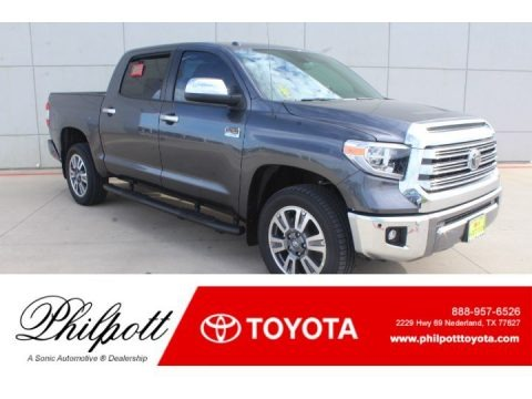 Magnetic Gray Metallic 2019 Toyota Tundra 1794 Edition CrewMax 4x4