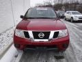 Nissan Frontier SV Crew Cab 4x4 Cayenne Red photo #4