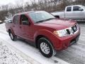 Nissan Frontier SV Crew Cab 4x4 Cayenne Red photo #6