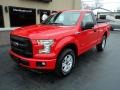 Ford F150 XL Regular Cab 4x4 Race Red photo #2