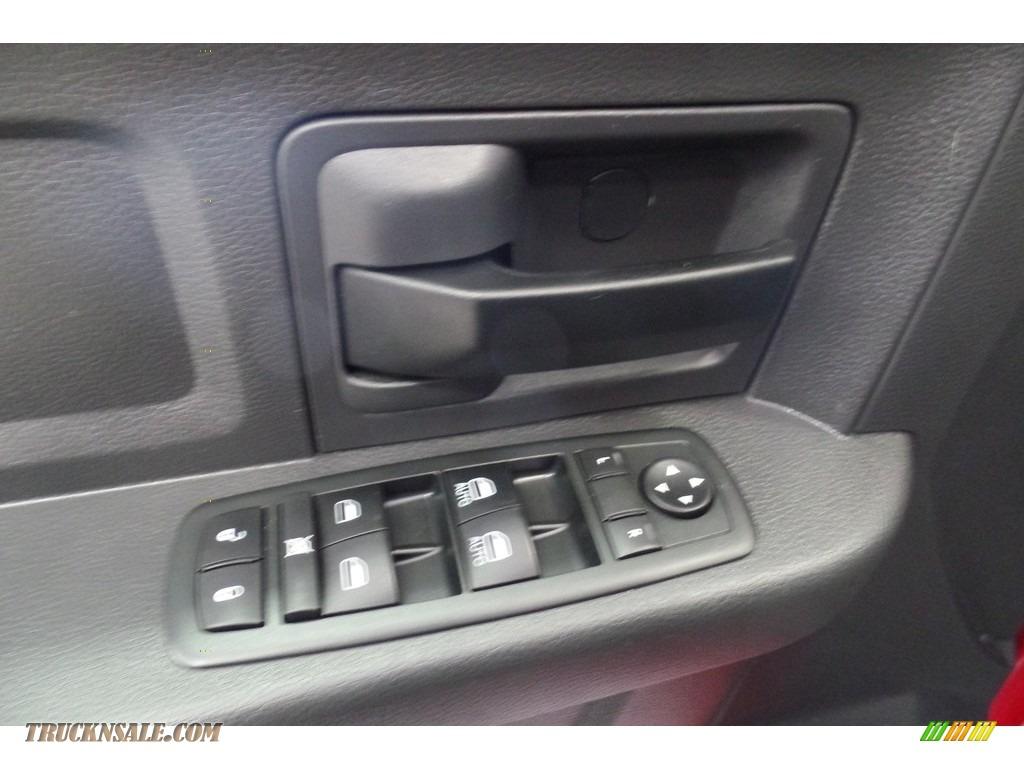2012 Ram 1500 Express Crew Cab 4x4 - Flame Red / Dark Slate Gray/Medium Graystone photo #23
