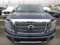 Nissan Titan SV Crew Cab 4x4 Deep Blue Pearl Metallic photo #9
