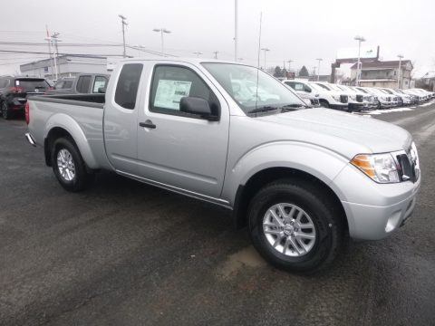 Brilliant Silver 2019 Nissan Frontier SV King Cab 4x4