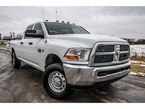 Bright White 2011 Dodge Ram 3500 HD ST Crew Cab 4x4
