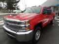 Chevrolet Silverado 3500HD Work Truck Crew Cab 4x4 Red Hot photo #3