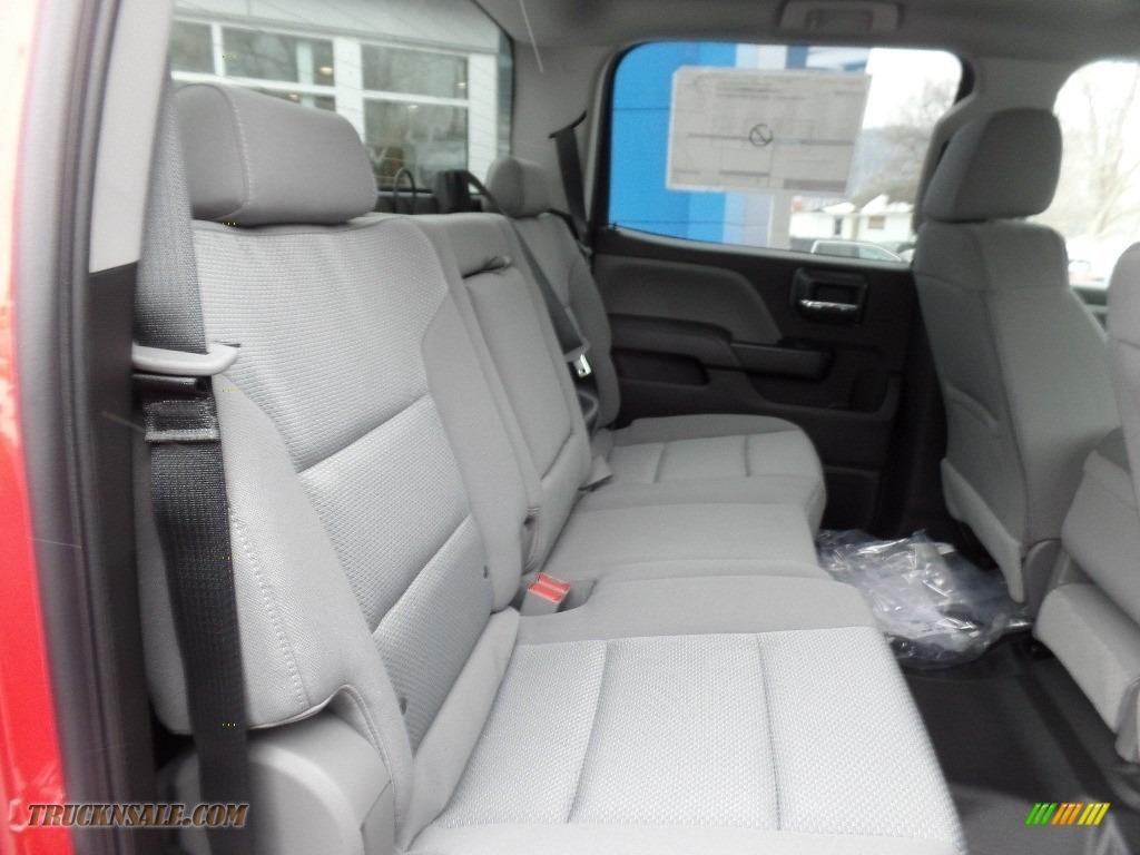 2019 Silverado 3500HD Work Truck Crew Cab 4x4 - Red Hot / Dark Ash/Jet Black photo #17