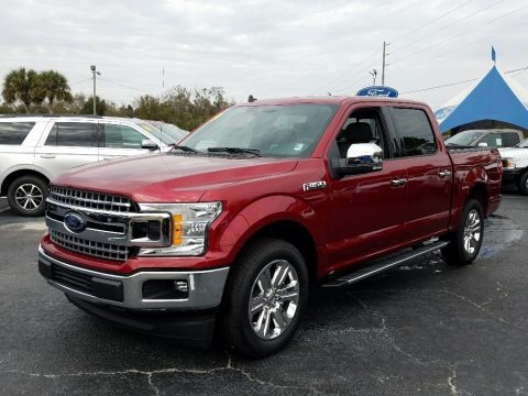 Ruby Red 2019 Ford F150 XLT SuperCrew
