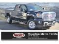 GMC Sierra 2500HD Denali Crew Cab 4x4 Onyx Black photo #1