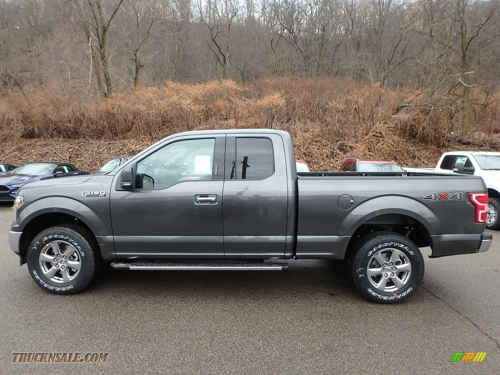 2019 F150 XLT SuperCab 4x4 - Magnetic / Earth Gray photo #5