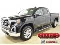GMC Sierra 1500 SLT Double Cab 4WD Onyx Black photo #1