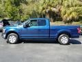 Ford F150 XLT SuperCab Blue Jeans photo #2