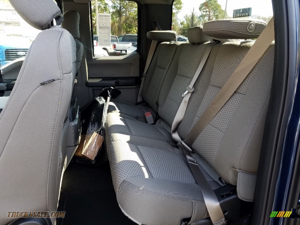 2019 F150 XLT SuperCab - Blue Jeans / Earth Gray photo #9