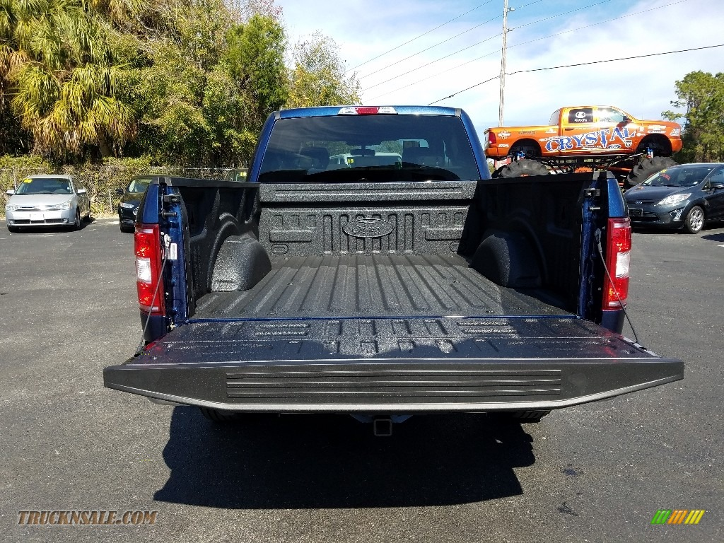 2019 F150 XLT SuperCab - Blue Jeans / Earth Gray photo #18