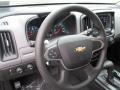 Chevrolet Colorado WT Crew Cab 4x4 Shadow Gray Metallic photo #17