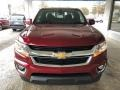 Chevrolet Colorado LT Extended Cab Cajun Red Tintcoat photo #12
