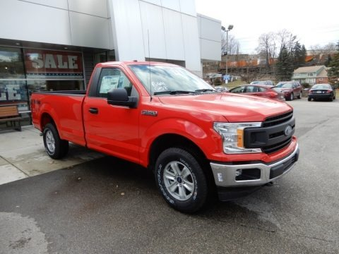 Race Red 2019 Ford F150 XL Regular Cab