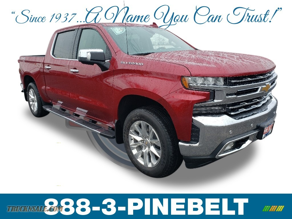 2019 Silverado 1500 LTZ Crew Cab 4WD - Cajun Red Tintcoat / Jet Black photo #1