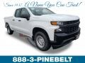 Chevrolet Silverado 1500 WT Double Cab Summit White photo #1