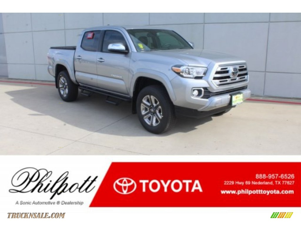 2019 Tacoma Limited Double Cab - Silver Sky Metallic / Hickory photo #1