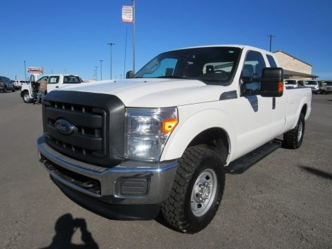 Oxford White 2015 Ford F250 Super Duty XL Super Cab 4x4