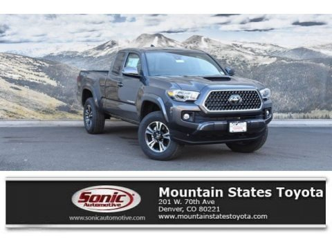 Magnetic Gray Metallic 2019 Toyota Tacoma TRD Sport Access Cab 4x4