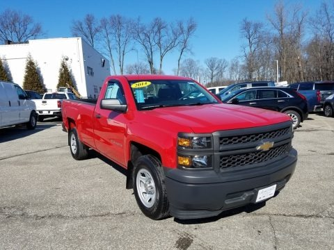 Victory Red 2014 Chevrolet Silverado 1500 WT Regular Cab