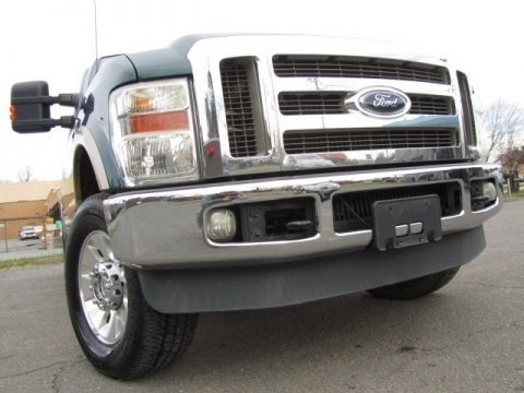 Forest Green Metallic 2010 Ford F250 Super Duty Lariat Crew Cab 4x4