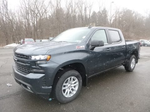 Shadow Gray Metallic 2019 Chevrolet Silverado 1500 RST Crew Cab 4WD