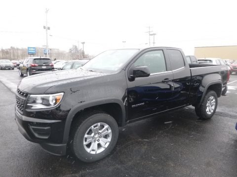 Black 2019 Chevrolet Colorado LT Extended Cab 4x4