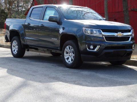 Shadow Gray Metallic 2019 Chevrolet Colorado LT Crew Cab