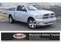 Dodge Ram 1500 Big Horn Quad Cab 4x4 Bright Silver Metallic photo #1
