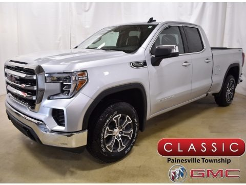Quicksilver Metallic 2019 GMC Sierra 1500 SLE Double Cab 4WD