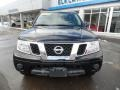Nissan Frontier S Crew Cab 4x4 Magnetic Black photo #2