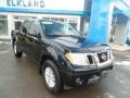 Nissan Frontier S Crew Cab 4x4 Magnetic Black photo #3