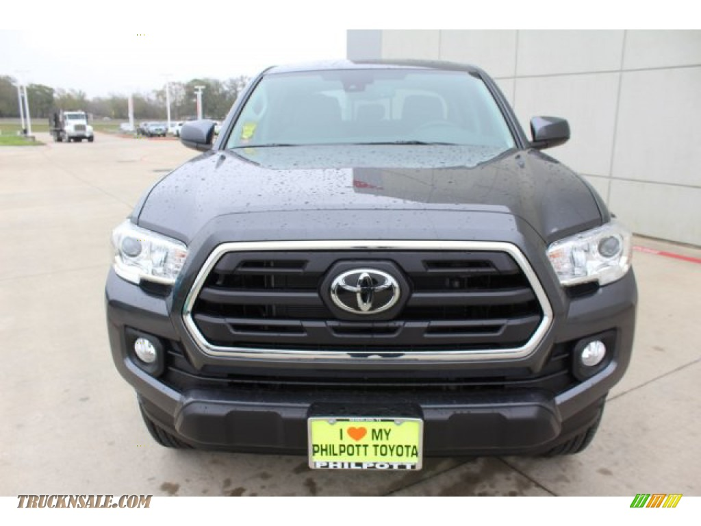 2019 Tacoma SR5 Double Cab - Magnetic Gray Metallic / Cement Gray photo #2