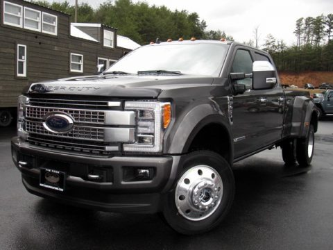 Magnetic Metallic 2019 Ford F450 Super Duty Platinum Crew Cab 4x4