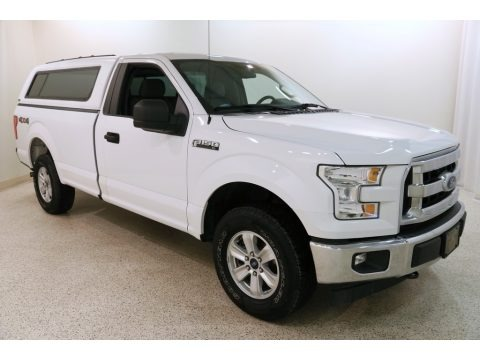 Oxford White 2017 Ford F150 XL Regular Cab 4x4