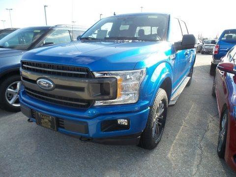Velocity Blue 2019 Ford F150 XL SuperCrew 4x4