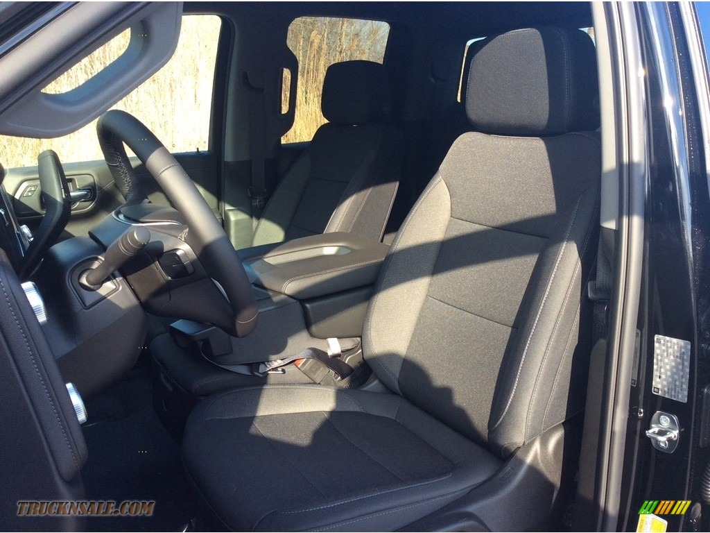 2019 Sierra 1500 SLE Double Cab 4WD - Onyx Black / Jet Black photo #10