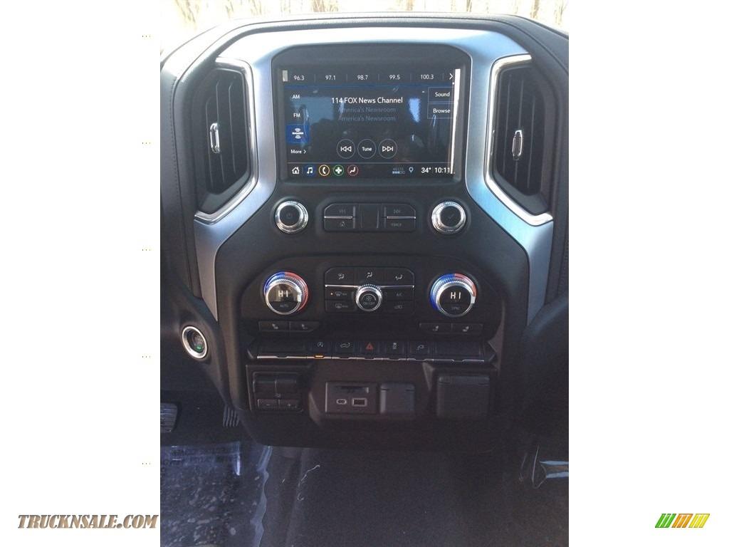 2019 Sierra 1500 SLE Double Cab 4WD - Onyx Black / Jet Black photo #13