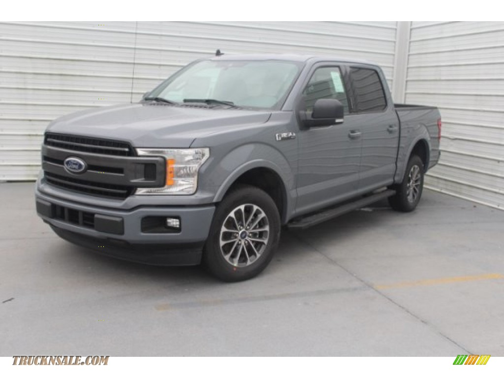 2019 F150 XLT SuperCrew - Abyss Gray / Black photo #4