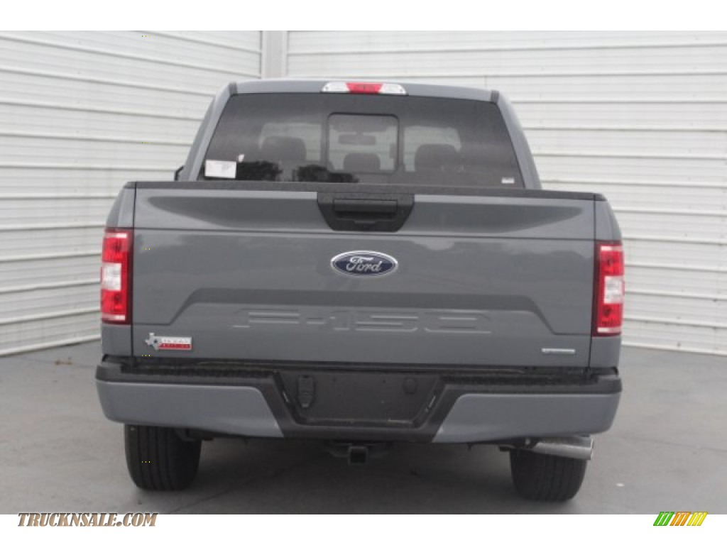 2019 F150 XLT SuperCrew - Abyss Gray / Black photo #7