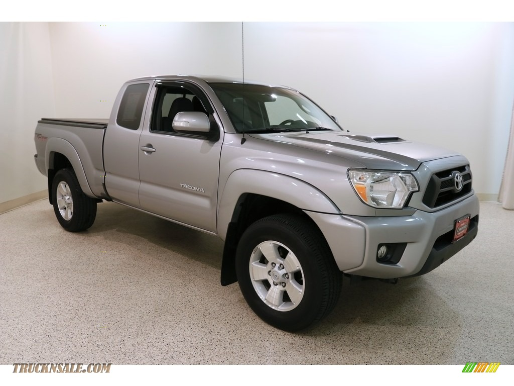 2015 Tacoma TRD Sport Access Cab 4x4 - Silver Sky Metallic / Graphite photo #1