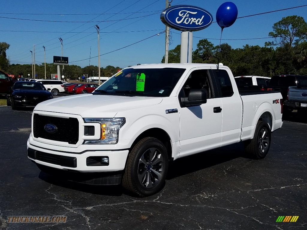 2019 F150 STX SuperCrew - Oxford White / Black photo #1