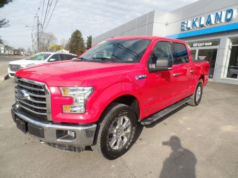 Race Red 2016 Ford F150 XLT SuperCrew 4x4