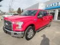 Ford F150 XLT SuperCrew 4x4 Race Red photo #1