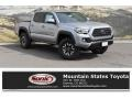 Toyota Tacoma TRD Off-Road Double Cab 4x4 Silver Sky Metallic photo #1