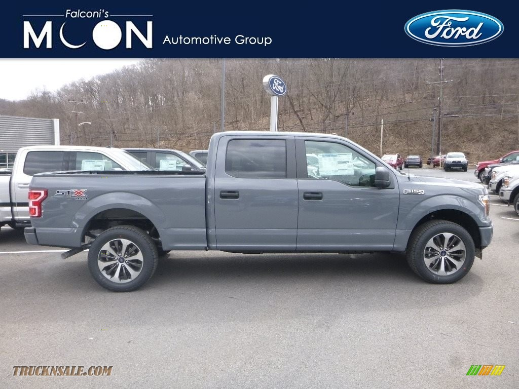 2019 F150 STX SuperCrew 4x4 - Abyss Gray / Black photo #1