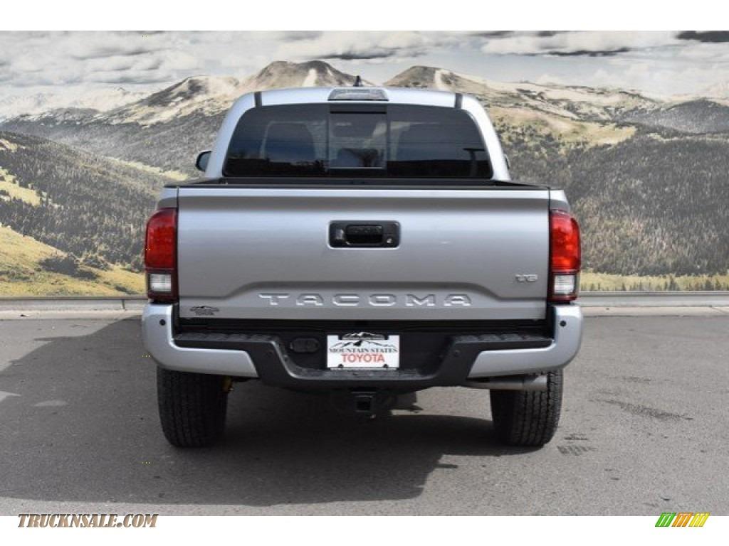 2019 Tacoma TRD Off-Road Double Cab 4x4 - Silver Sky Metallic / Black photo #4