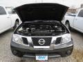 Nissan Frontier SV Crew Cab 4x4 Magnetic Black photo #6